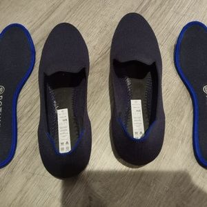 Rothy's The Loafer Size 8 Navy GUC